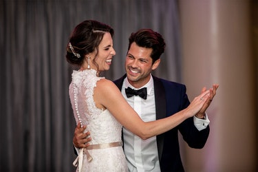 Mindy Shiben and Zach Justice on Married at First Sight Season 10.