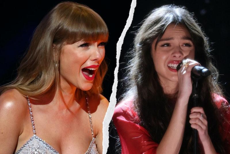 Taylor Swift and Olivia Rodrigo
