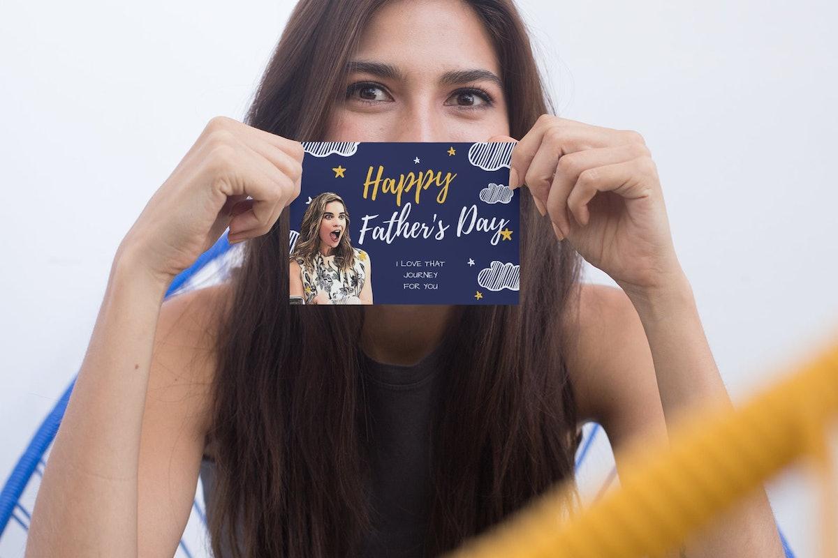 Schitt's Creek Father's Day Card Featuring Alexis