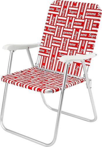 Supreme lawn chair