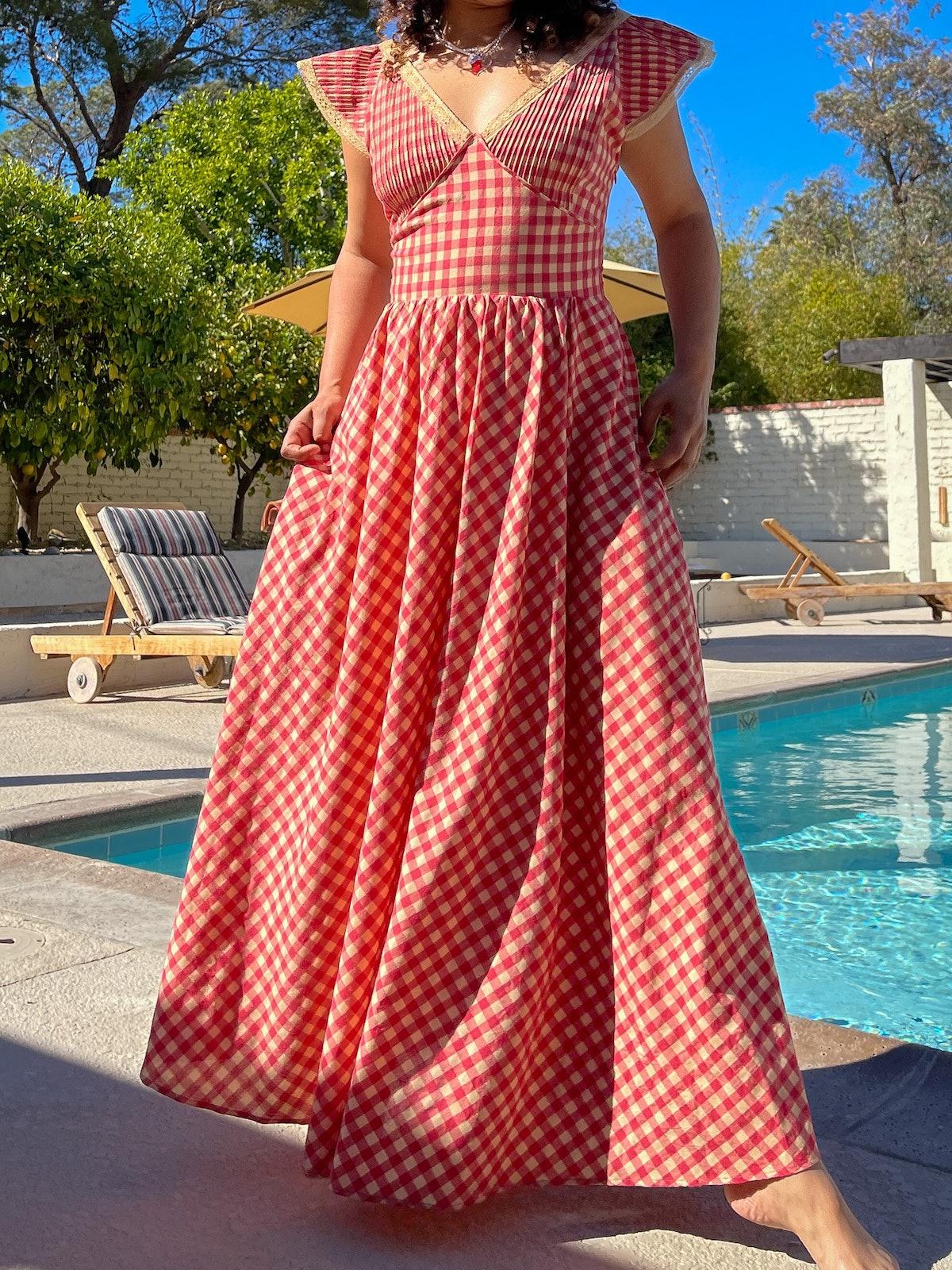 Anoki Midi Dress