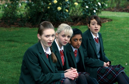 'Angus, Thongs, & Perfect Snogging' is a British romantic comedy about four teenage girls looking for love