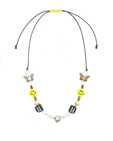 EVAE charm necklace beaded instagram