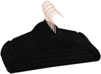 BBFISH Velvet Hangers (50-Pack)