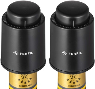Ferfil Wine Vacuum Stoppers (2-Pack)