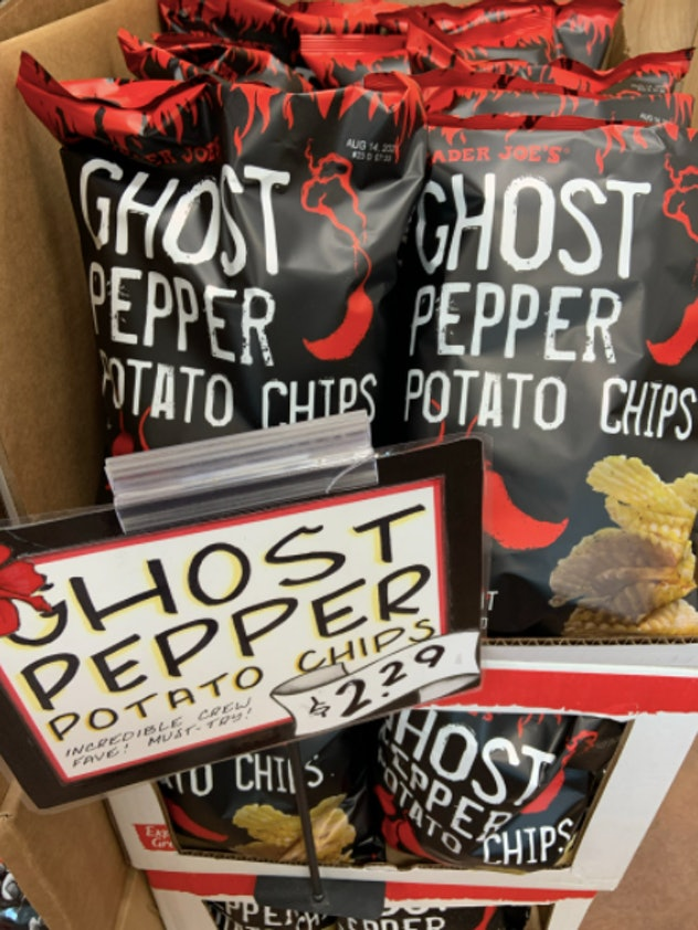ghost pepper chips