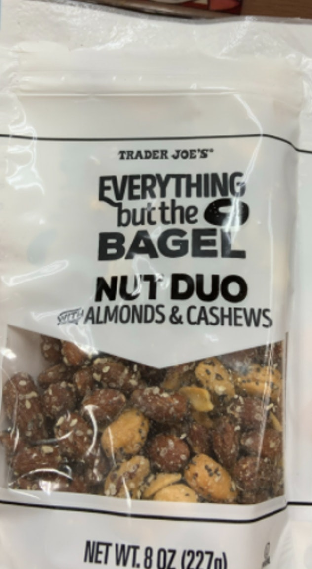 everything but the bagel nuts