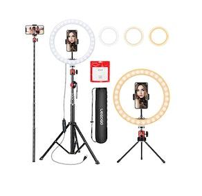 UEGOGO 10.2 inch Selfie Ring Light