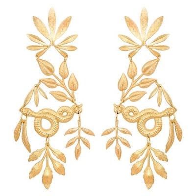 Gold Grande Riviere Earrings