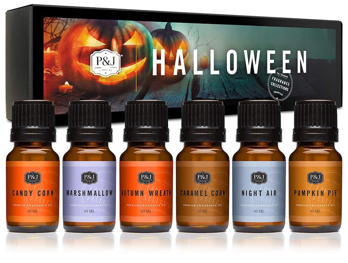 P&J Trading Halloween Fragrance Oils, 10ml (Set of 6)