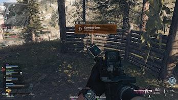Call of duty warzone combat bow killstreak