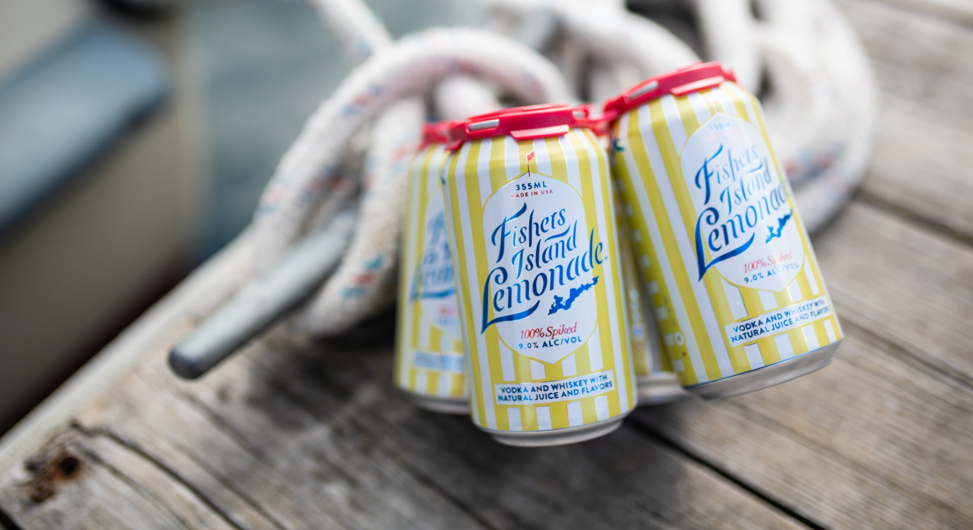 Fishers Island Lemonade is an award-winning spiked lemonade.
