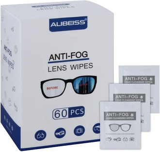 Alibeiss Anti-Fog Lens Wipes (60 Pack)