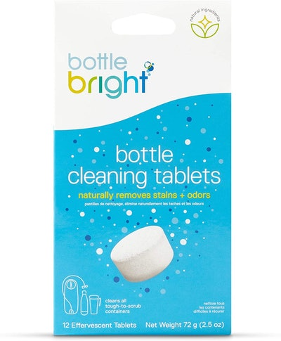 Bottle Bright Biodegradable Water Bottle Cleaning Tablets