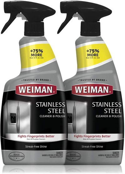 Weiman Stainless Steel Cleaner and Polish (2 Pack)