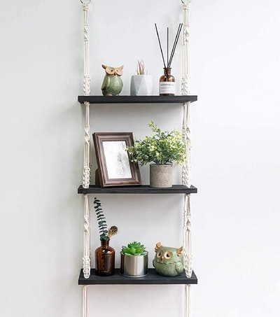 TIMEYARD Macramé Hanging Shelf