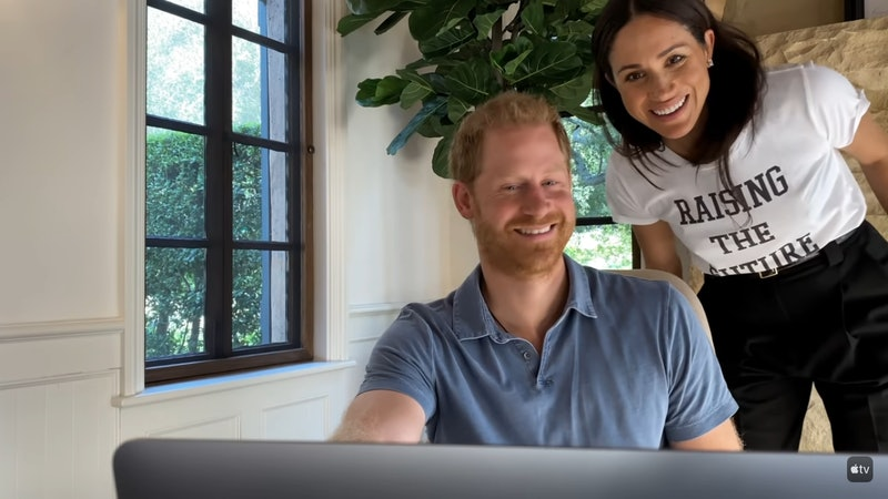 Meghan Markle made a surprise appearance during 'The Me You Can't See.' Screenshot via Apple TV+