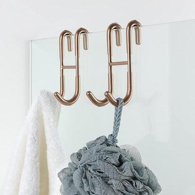 Simtive Shower Door Hooks (2-Pack)