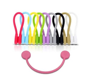 Monster Magnetics TwistieMag Strong Magnetic Silicone Twist Ties