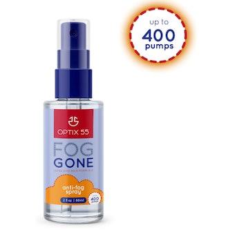 Optix 55 Anti-Fog Spray for Lenses