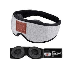 Tufusiur Sleep Headphones Bluetooth Sleep Mask