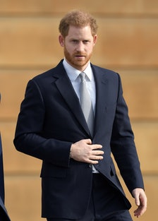 Prince Harry in January of 2020