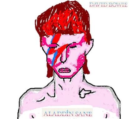 David Bowie, MS Paint, Bill Gates, Clip Art, Graphic Design
