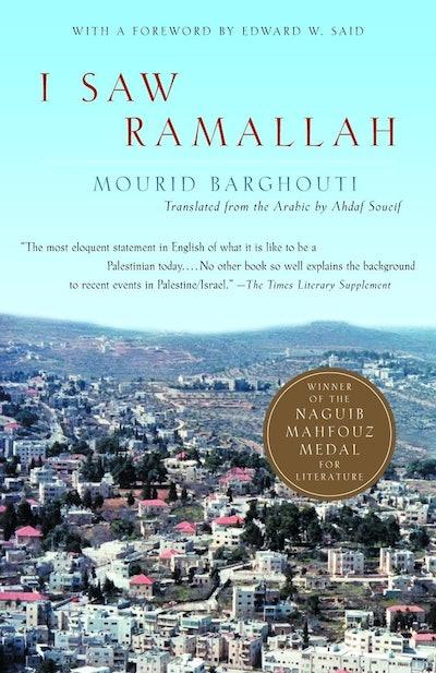 'I Saw Ramallah' by Mourid Barghouti