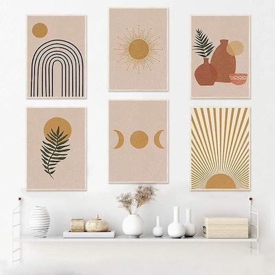 iMagitek Art Prints (Set of 6)