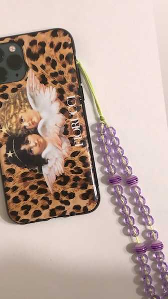 Purple Punk Cell Phone Chains