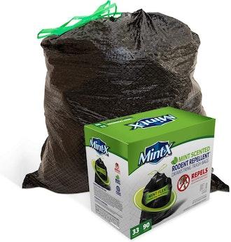 Mint-X MintFlex Rodent Repellent Trash Bags (90 Count)