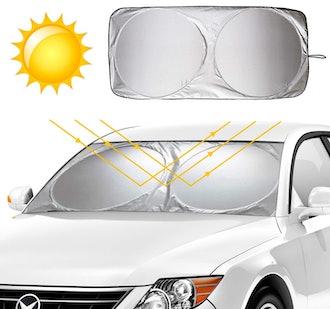 KKTICK Foldable Car Sunshade
