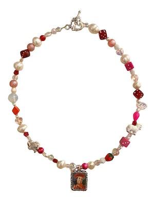 ian charms beaded charm necklace