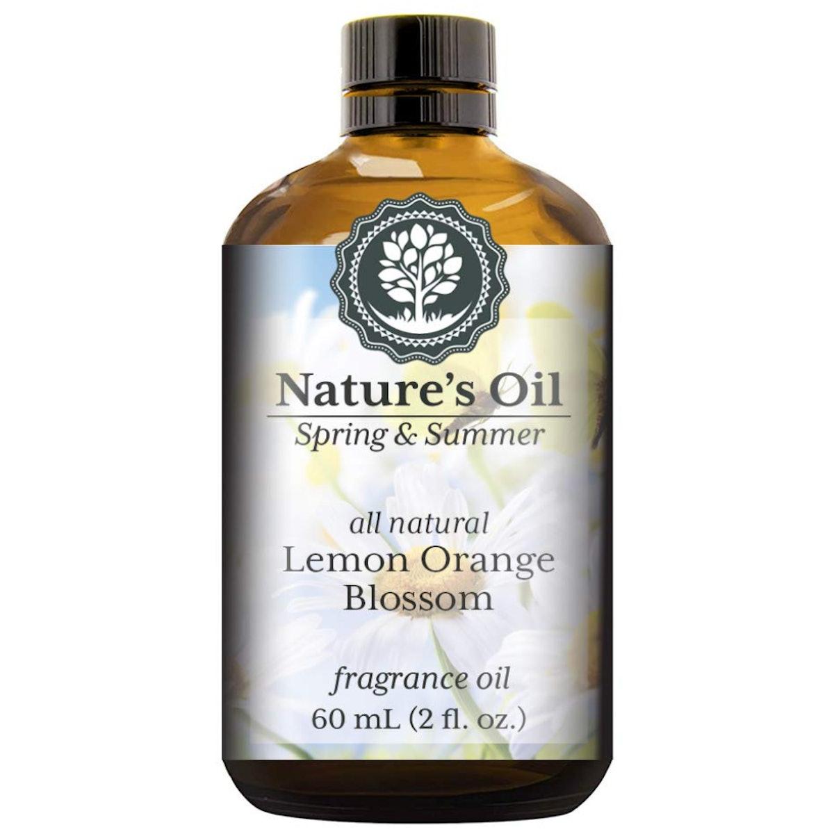 Nature's Oil Lemon Orange Blossom Fragrance Oil, 60ml
