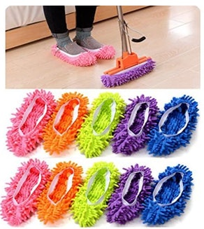 SHADIAO Mop Slippers (10-Piece)