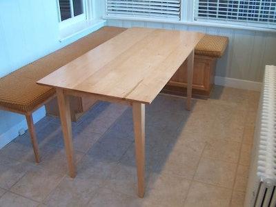 Shaker Inspired Maple Table