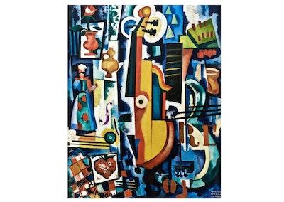 Nautilus Puzzles Store Birth of the Viola Wooden Puzzle