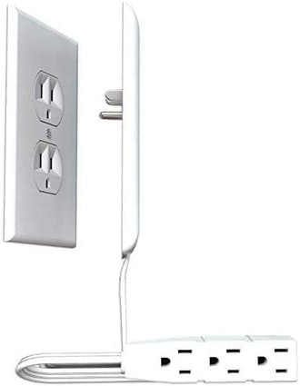 Sleek Socket Outlet Cover with Power Strip