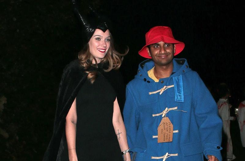 Aziz Ansari and girlfriend Dr. Serena Skov Campbell in 2019.