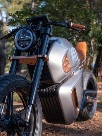 French company Nawa is making a prototype electric motorcycle that uses supercapacitor technology to...