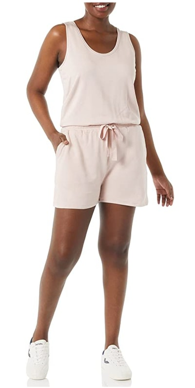Daily Ritual Supersoft Terry Sleeveless Relaxed Fit Romper