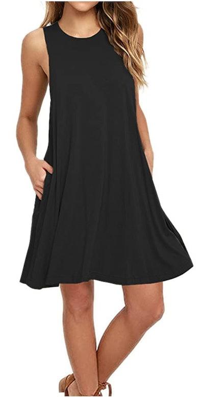 AUSELILY Tank Top Dress