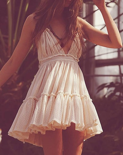 R.Vivimos Halter-Neck Mini Dress
