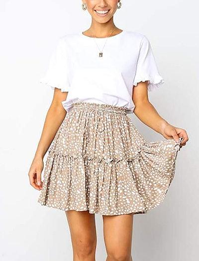 Relipop Short Polka Dot Skirt
