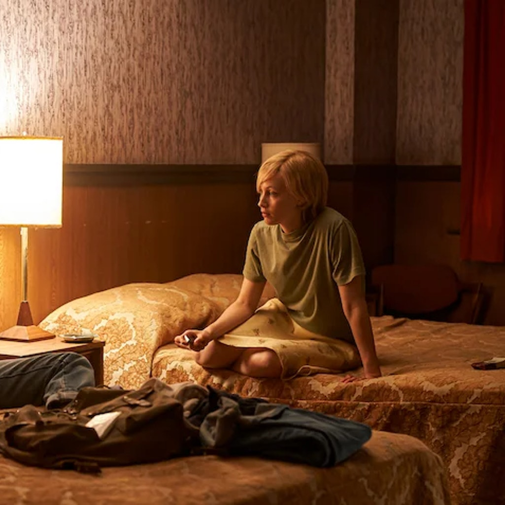 A still from the film 'American Woman.'