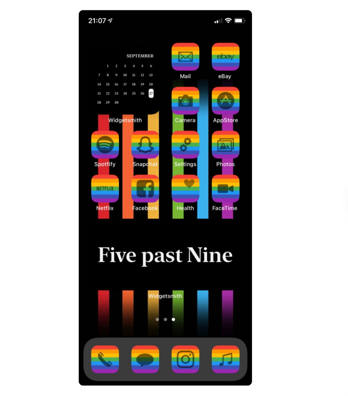 Pride iPhone Theme