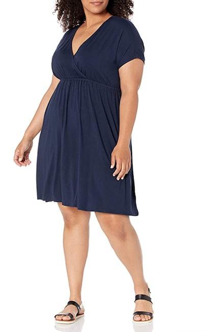 Amazon Essentials Surplice Dress