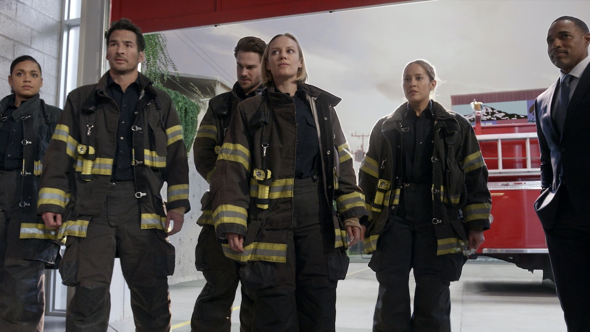 The cast of 'Grey's Anatomy' spinoff 'Station 19.'