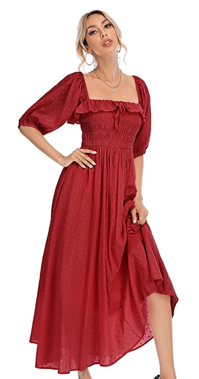 R.Vivimos Vintage Ruffled Dress