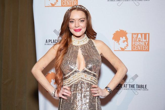 Lindsay Lohan will star in a Netflix Christmas rom-com.